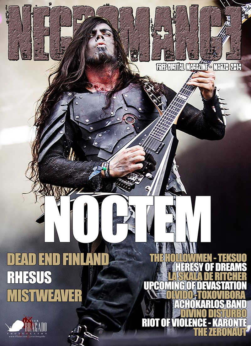 NECROMANCE DIGITAL MAGAZINE, número de marzo 2014 ya disponible