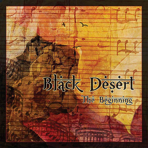 "BLACK DESERT (ESP) ""The beginning"" CD 2013 (Autofinanciado)"