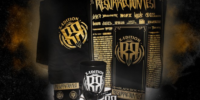 RESURRECTION FEST BLACK BOX 2015 ya a la venta